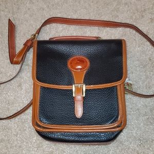 Dooney and Bourke black and brown crossbody bag